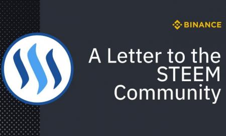 Binance atvainojusies Steem kopienai par palīdzību Džastinam Sanam