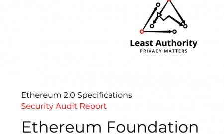 Ethereum 2.0 specifikācijas izturējušas drošības auditu