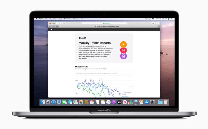 Kompānija Apple pandēmijas laikā atvērusi piekļuvi datiem par savu lietotāju pārvietošanos dažādās pasaules valstīs.