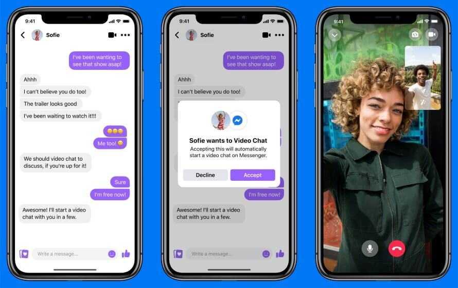 Facebook jaunums - Messenger Rooms, Zoom konkurents (Video)