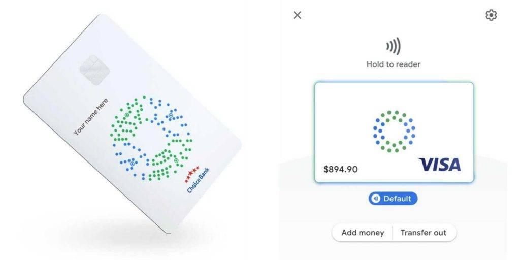 Google bankas karte 2020