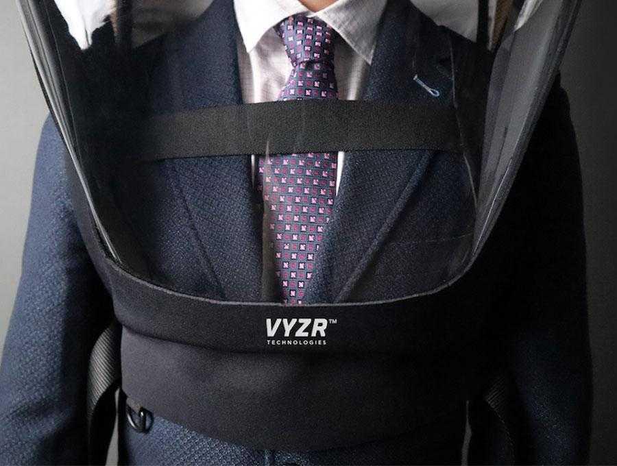 VYZR Technologies aizsargtērps 2020