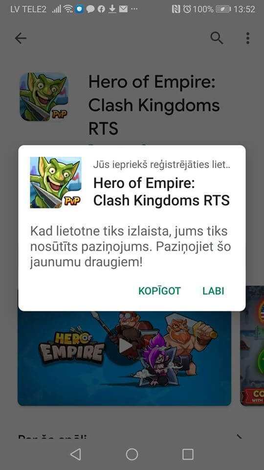 Google atļauj Android viedtālruņiem automātiski instalēt spēles un programmas