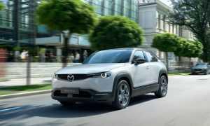 Sākta pirmās Mazda elektromobiļa ražošana