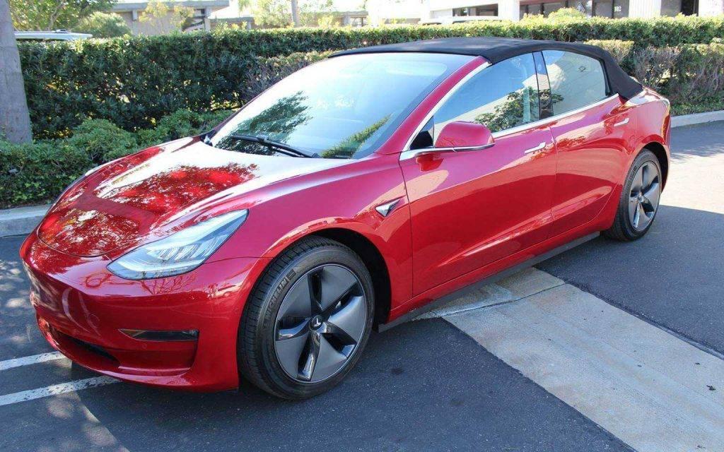 Newport Convertible Engineering Tesla Model 3