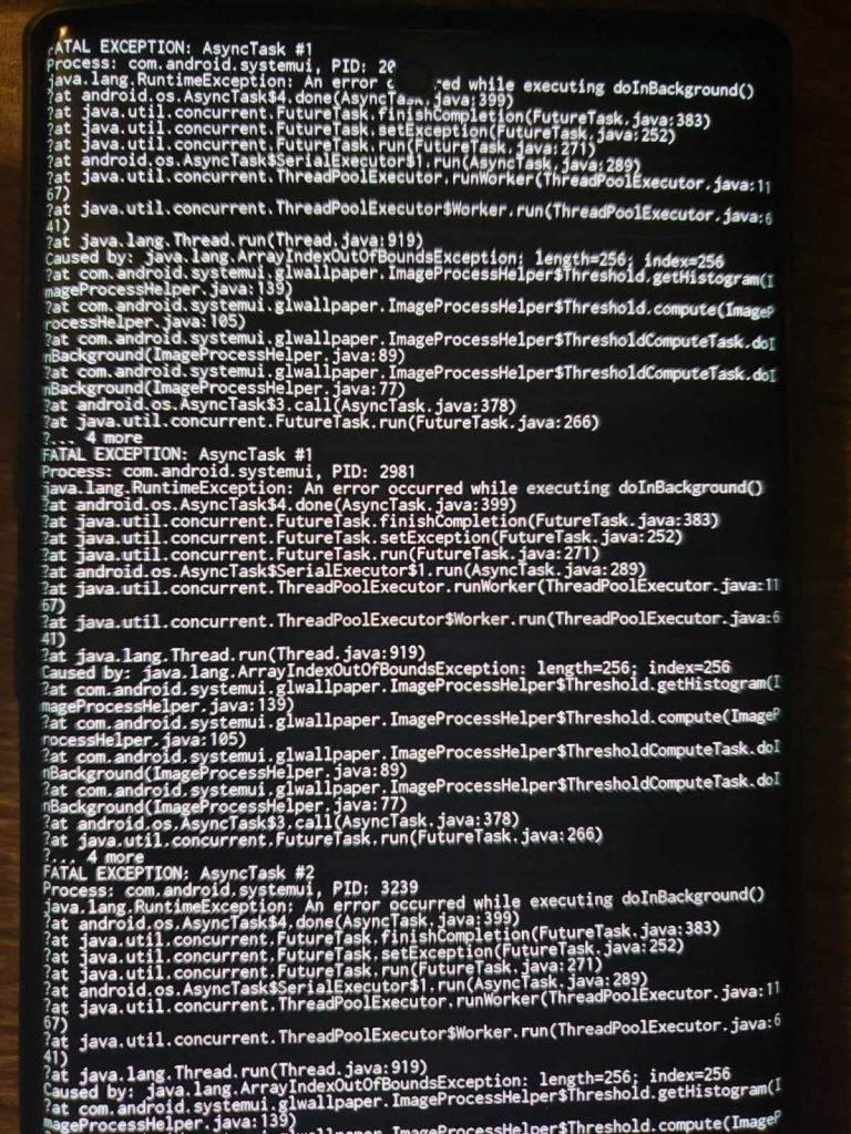 Fona attēli iznīcina telefonus