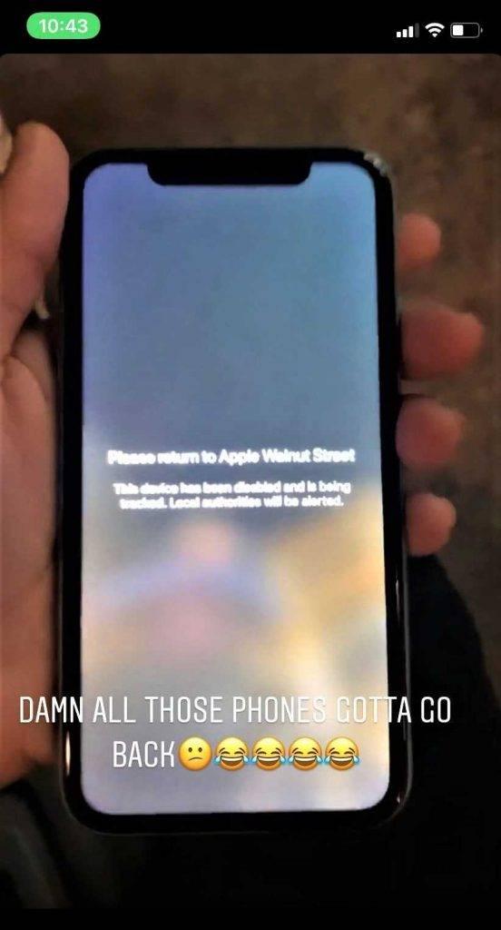 """Kompānija """"Apple"""" uzrauga katru iPhone viedtālruni un pat zina, no kura veikala tas tika nozagts."""