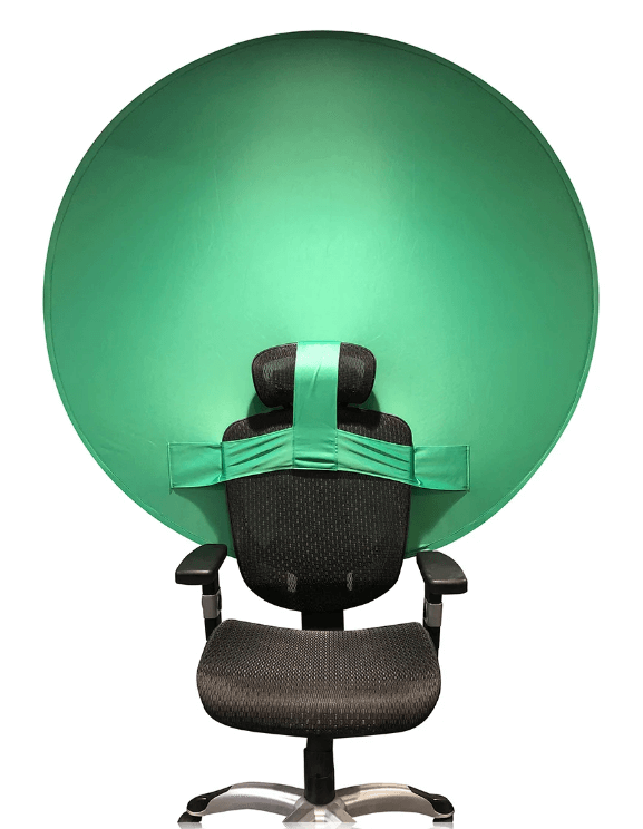 Fona attels pie krēsla