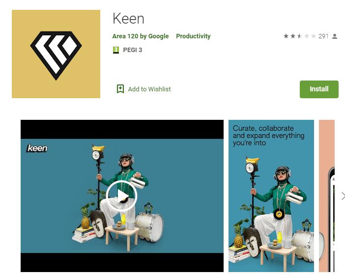 Keen - jauns Google sociālais tīkls