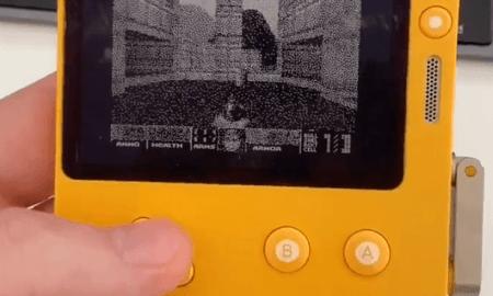 Spēle Doom uz vissdīvainākās spēļu konsoles