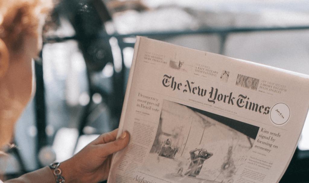 New York Times testē blokķēdi