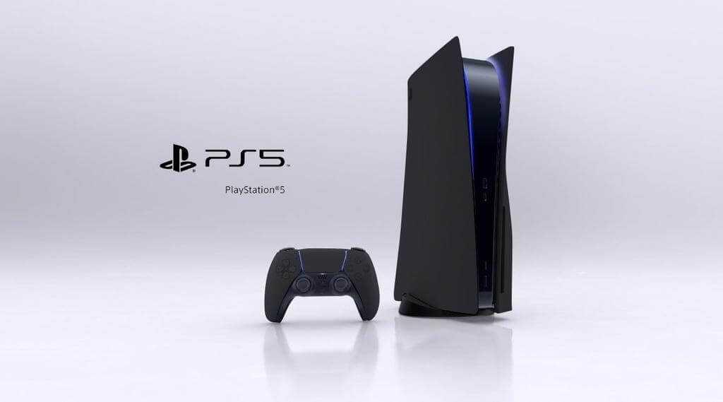PlayStation 5 melnā krāsā