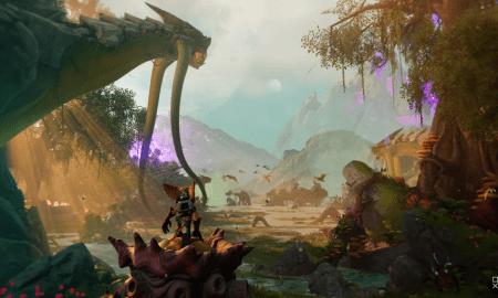 Pirmā informācija par spēli Ratchet & Clank Rift Apart