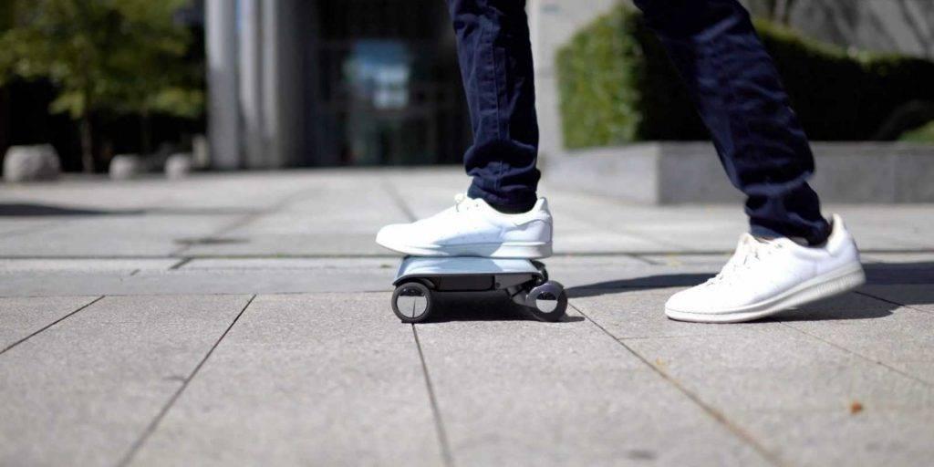 Walkcar - neliela klēpjdatora izmēra elektroskeitbords
