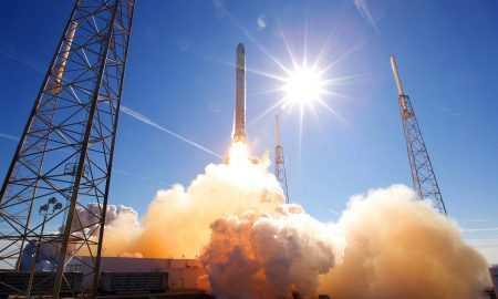 SpaceX raķešu palaišana