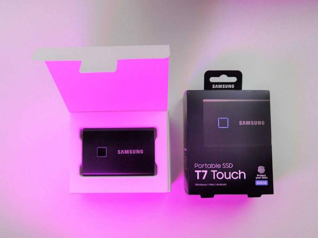 Arejais cietais disks Samsung 2020