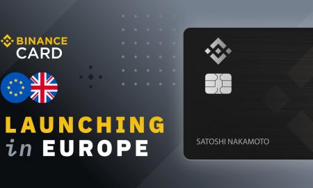 Jaunā Binance maksājumu karte Eiropai