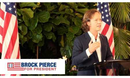 Bitcoin fonda priekšsēdētājs Broks Pīrss kandidēs uz ASV prezidenta amatu