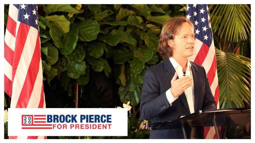 Brock Pierce ASV prezidenta kandidats