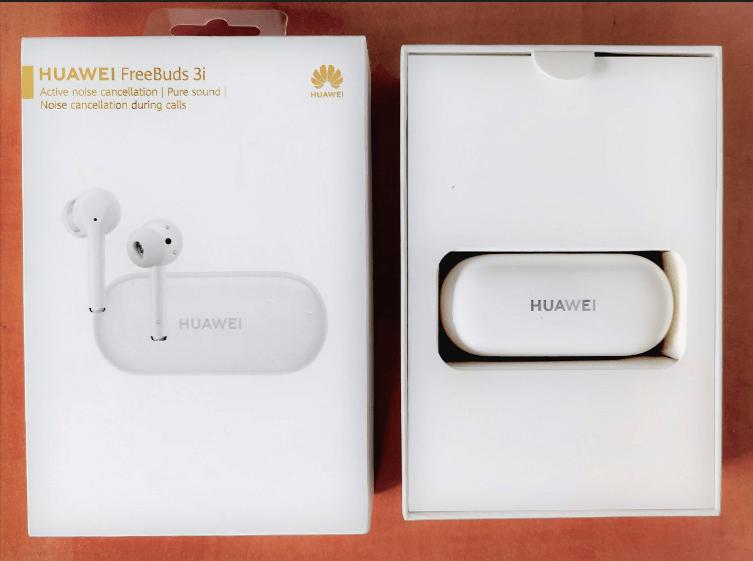 Huawei FreeBuds 3i iepakojums