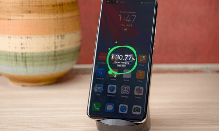 Huawei bezvadu uzlādes tests