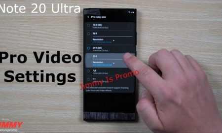 Jauna informācija par Samsung Galaxy Note 20 Ultra