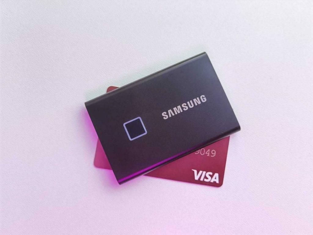 Samsung arejais cietais disks
