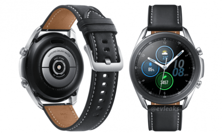 Samsung viedpulkstenis Galaxt Watch 3 Video