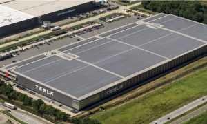 Jauna Tesla rūpnīca
