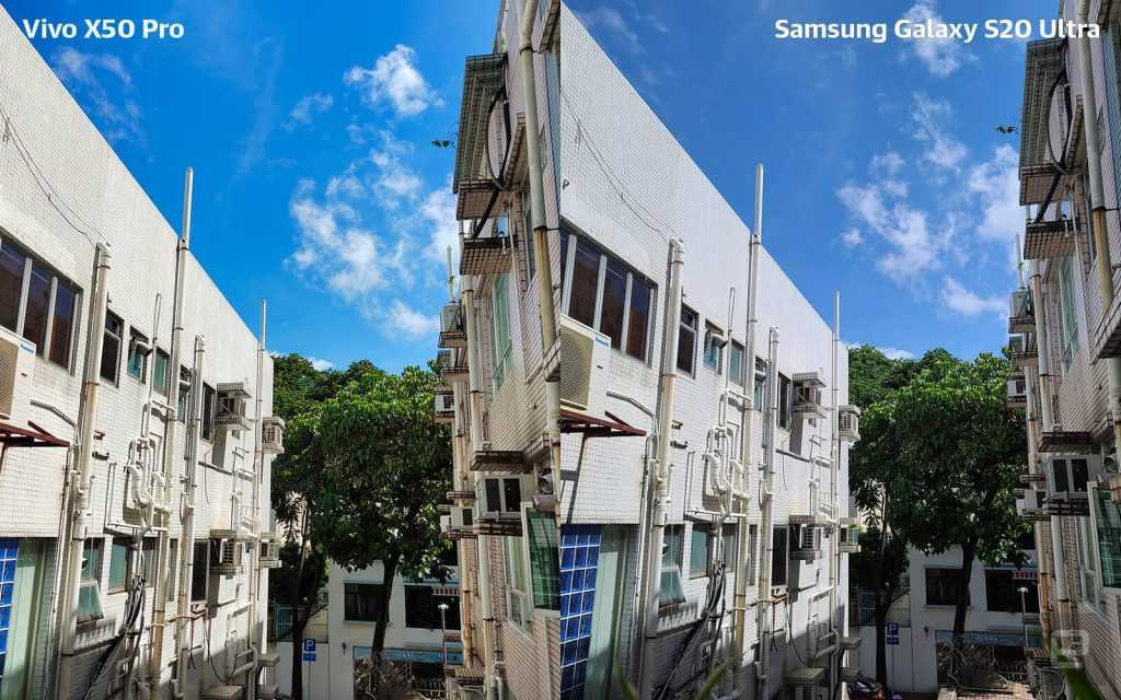 Vivo X50 Pro pret Samsung S20 Ultra tests 01