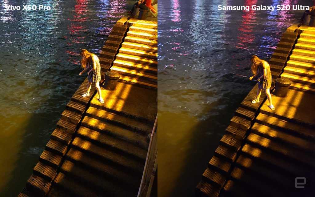Vivo X50 Pro pret Samsung S20 Ultra tests 1