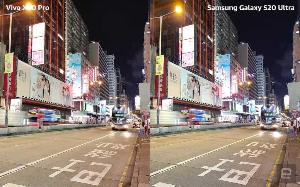 Vivo X50 Pro pret Samsung S20 Ultra tests 2