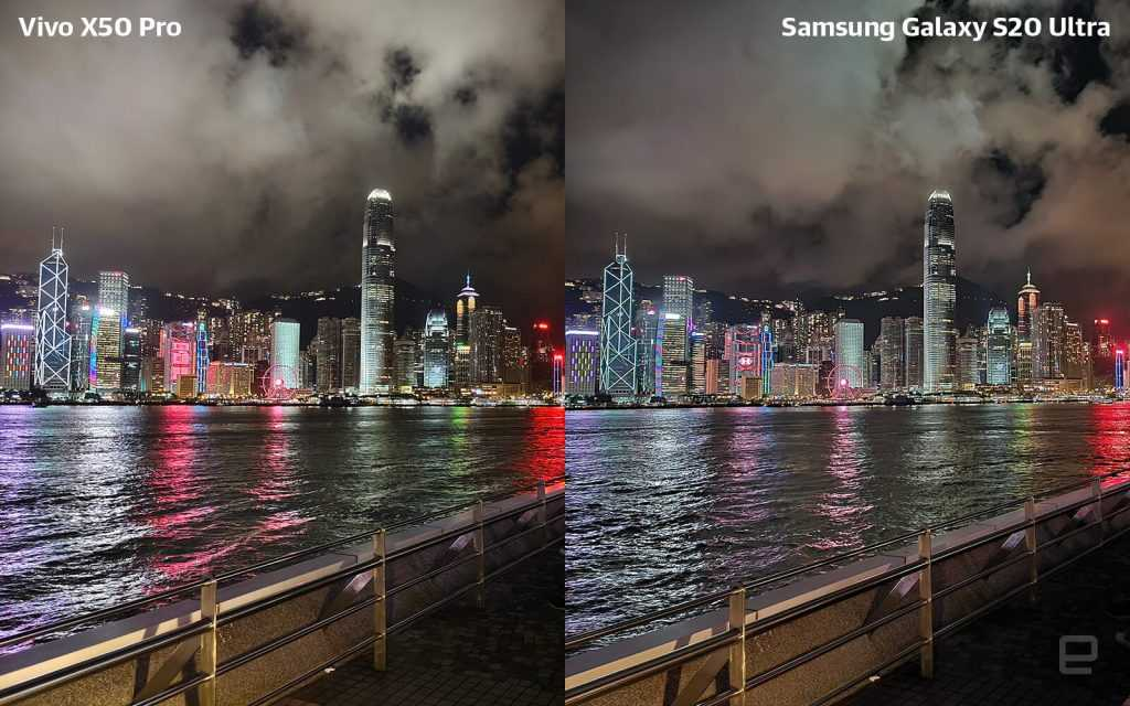 Vivo X50 Pro pret Samsung S20 Ultra tests 3