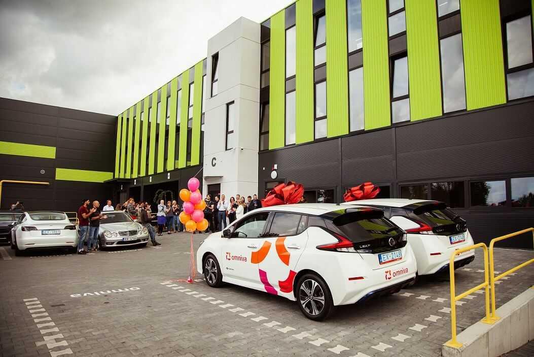 Jauni elektroauto kompanijai Omniva