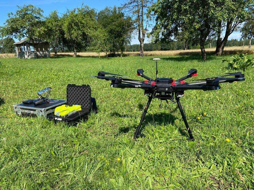 Valsts policija Liepājā projekta ietvaros savā rīcībā iegūst bezpilota lidaparātu – dronu