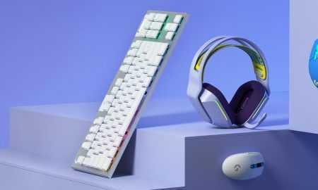 Papildus austiņām var iegādāties peli ar vadu G102, kā arī bezvadu variantu G305 LightSpeed un kompaktu bezvadu klaviatūru G915 TKL par $229.