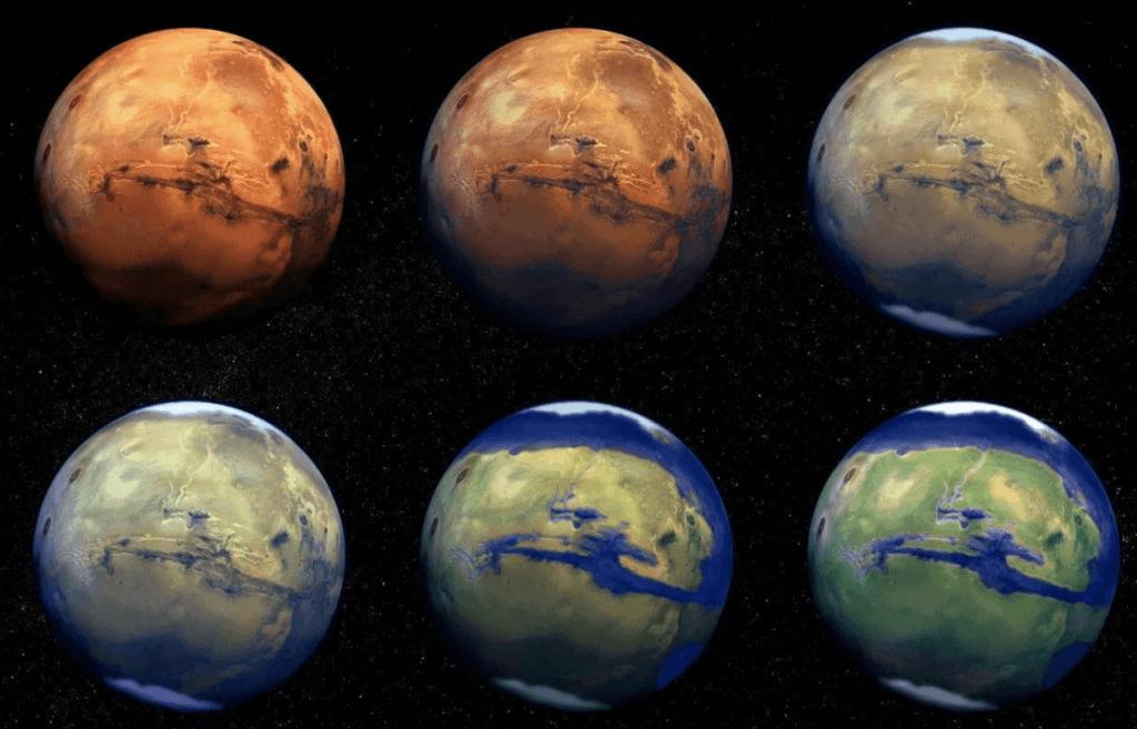 Mars miljoniem gadu atpakal