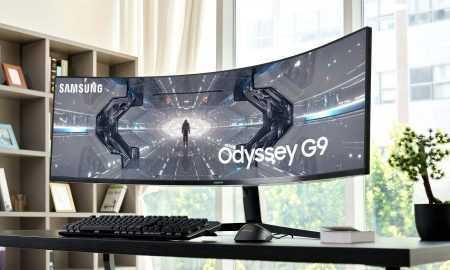Jauns Odyssey G9 datorspēļu monitors