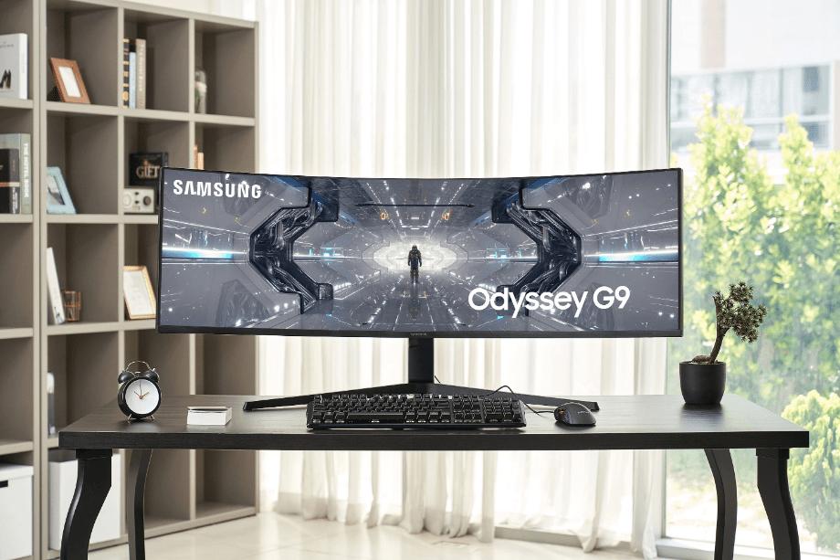 Odyssey G9 datorspēļu monitors_1