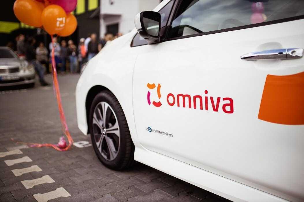 Omniva autoparku papildināt ar pirmajiem elektroauto