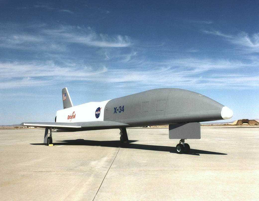 Lidmašīna Orbital Sciences Corporation Х-34