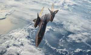 "Lidmašīna SR-71 ""Blackbird"""
