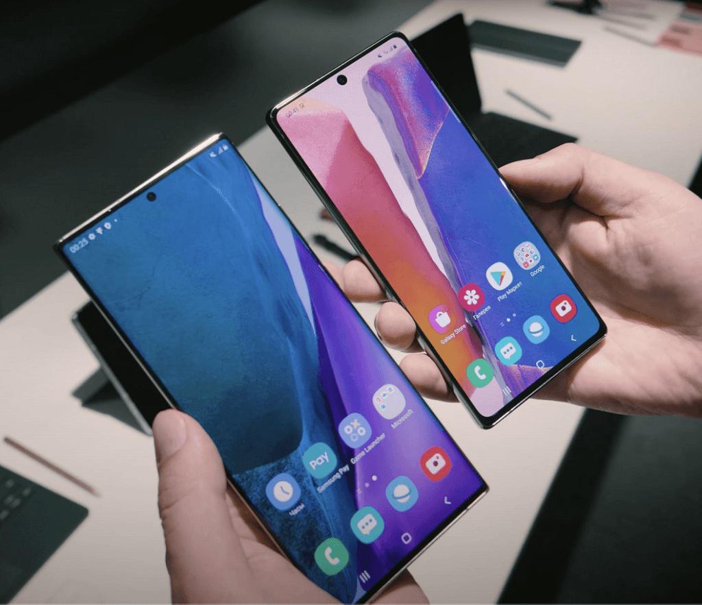Samsung Galaxy Note20 pret Note20 Ultra