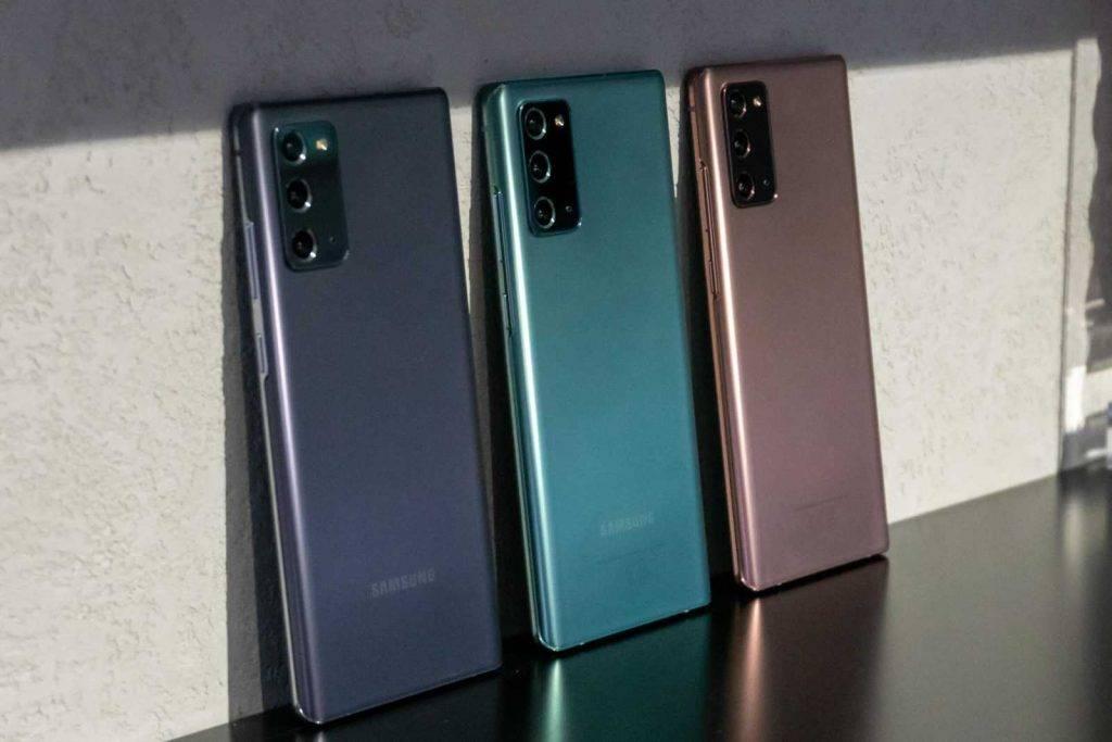 Samsung Jaunakie viedtelefoni