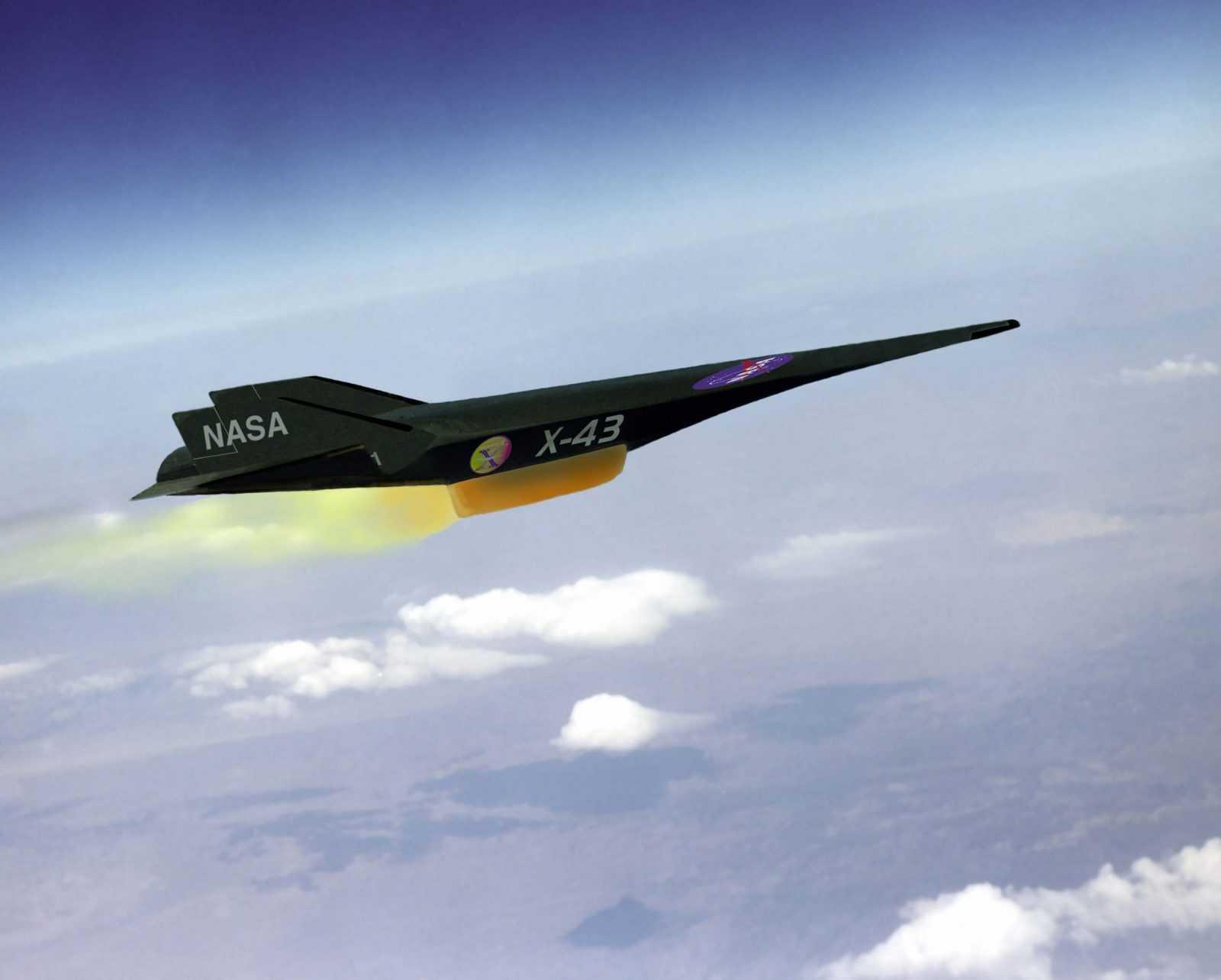 Boeing X-43 - visātrākais lidaparāts pasaulē