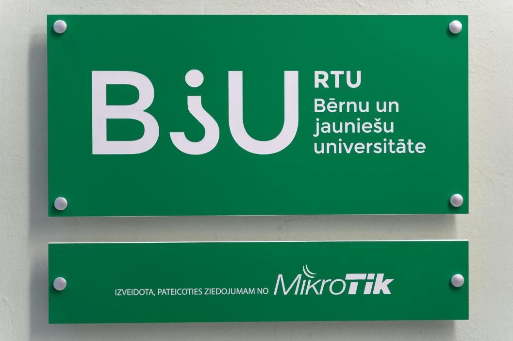 Adazu vidusskola atklata RTU Bernu un jauniesu universitate 1