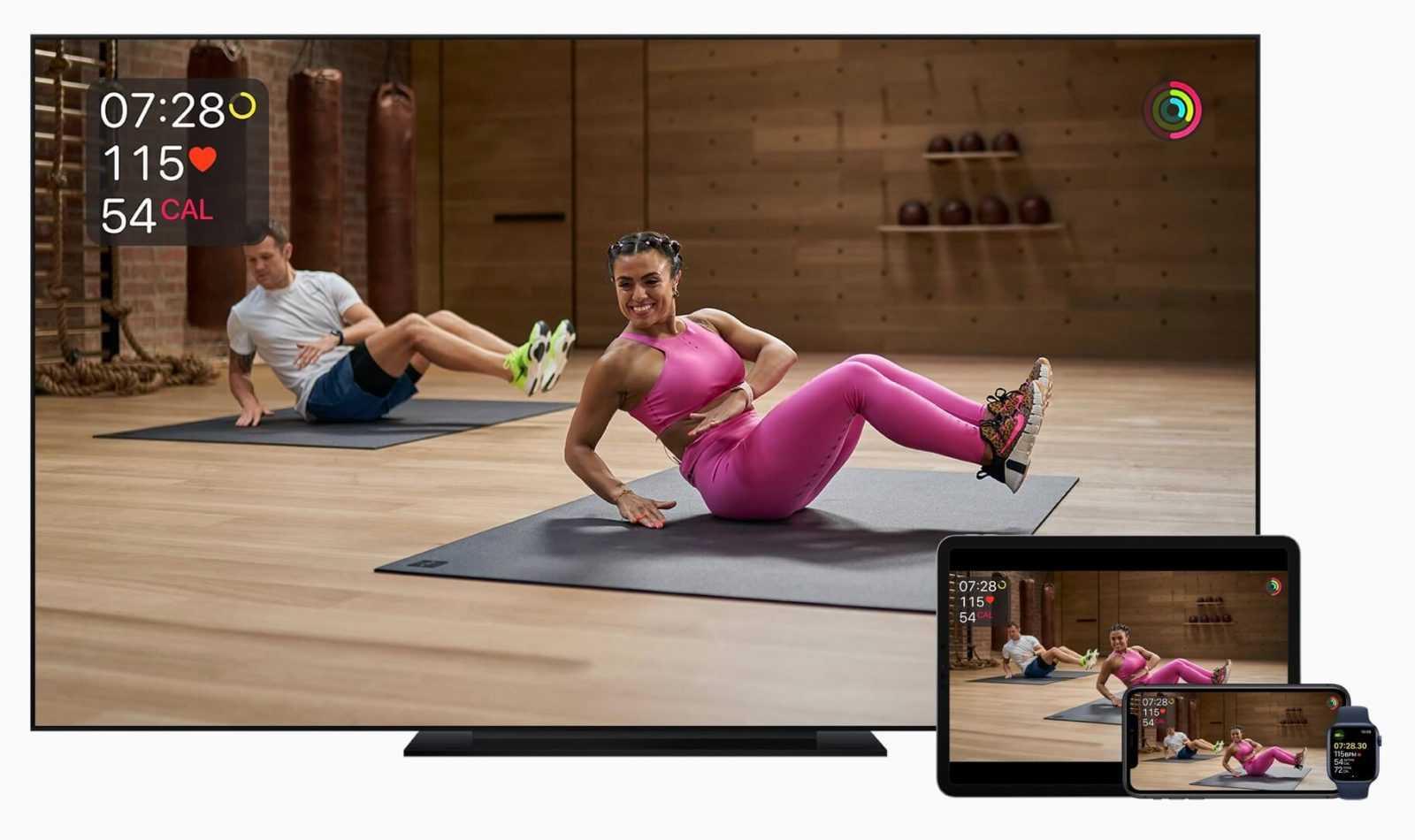 Apple Fitnes Pluss