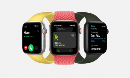 Viedpulkstenis Apple Watch SE alternativa Series 6