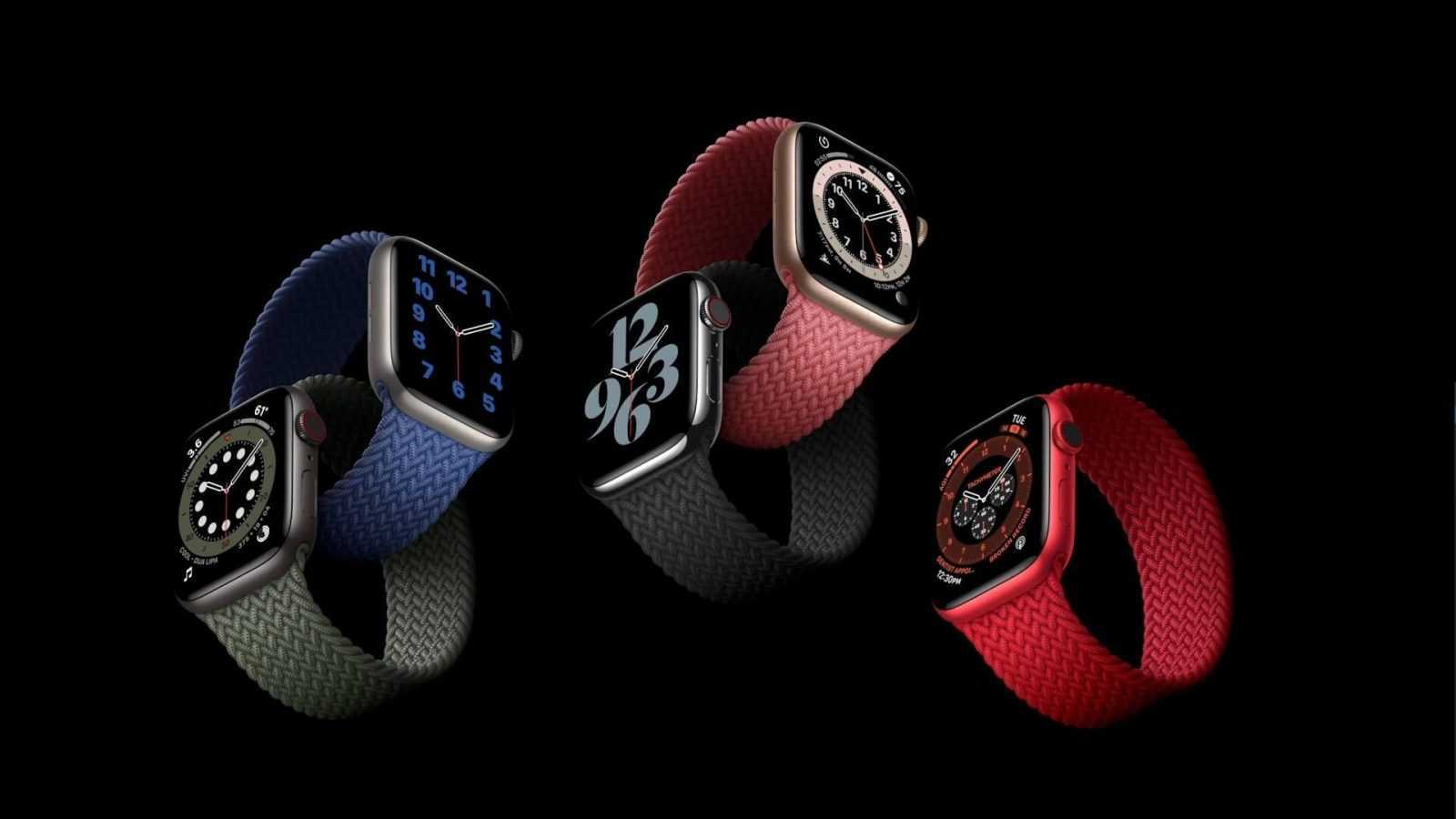 Apple Watch Series 6 2020 prezentācija