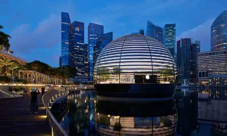 Apple veikals Singapūrā